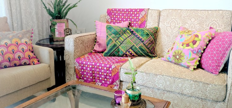 Festival Special: Sofa Styling With Cushions By VLiving