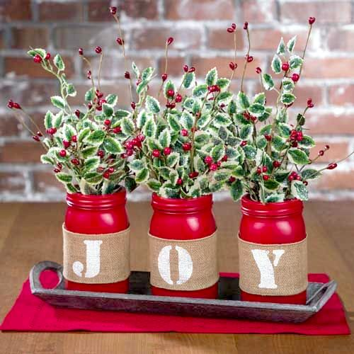20 Cute and Easy Christmas Decor Ideas - Lettering