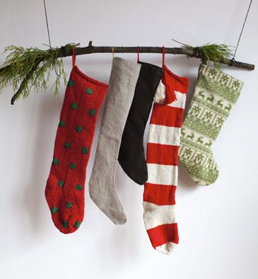20 Cute and Easy Christmas Decor Ideas - Stockings