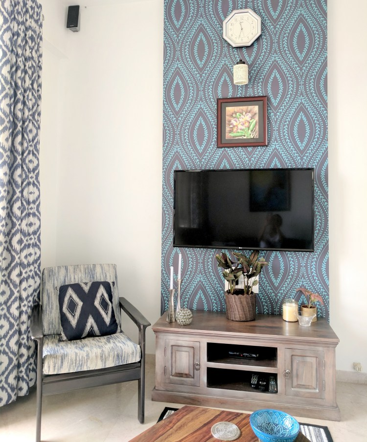 Blue Guest Room Reveal