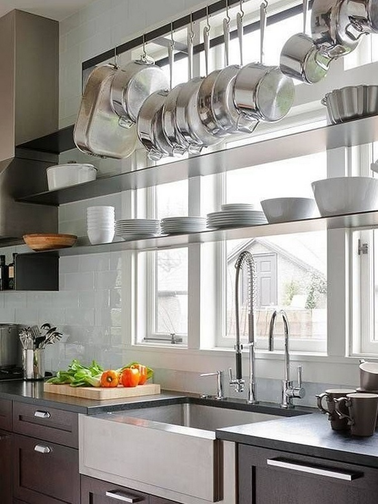 11 Ways To Make Big Space in Your Small Kitchen - Use The Window