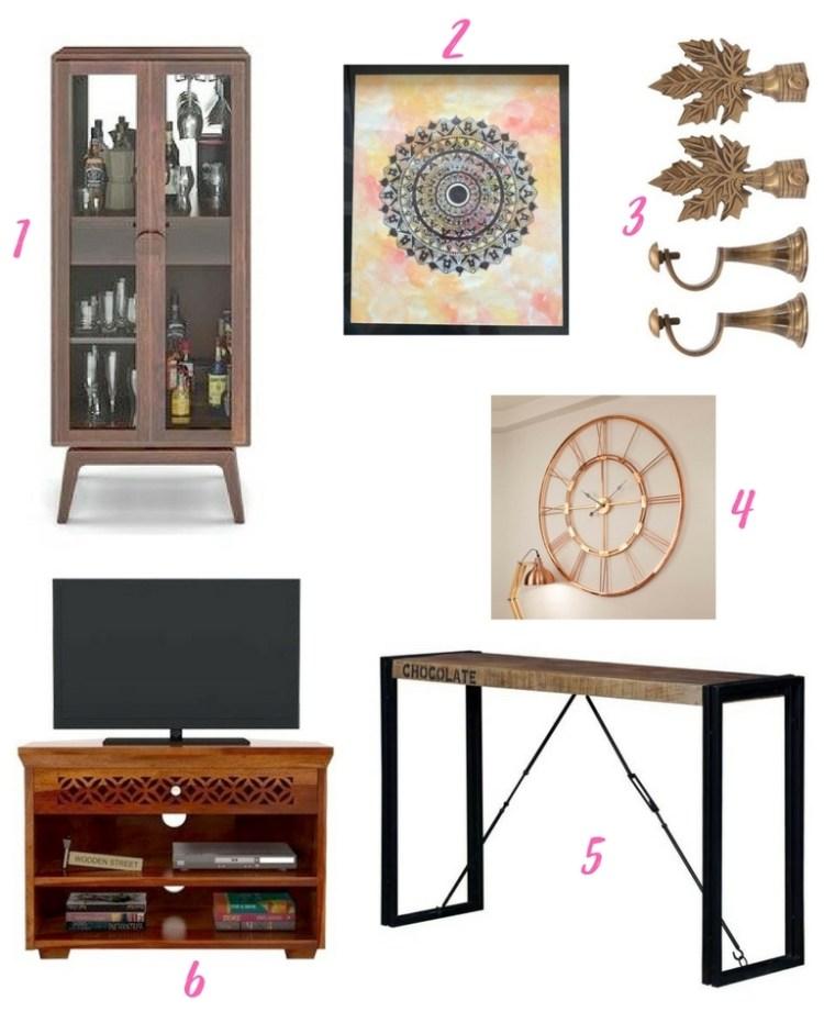 Em's Living Room Reveal - Product Board