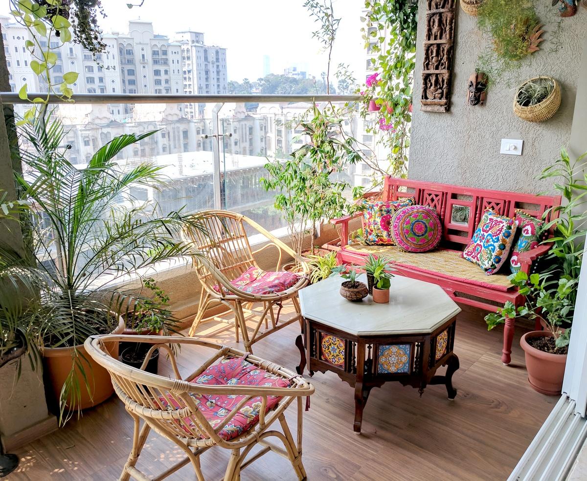 A Balcony Garden In Mumbai   Terrace Reveal