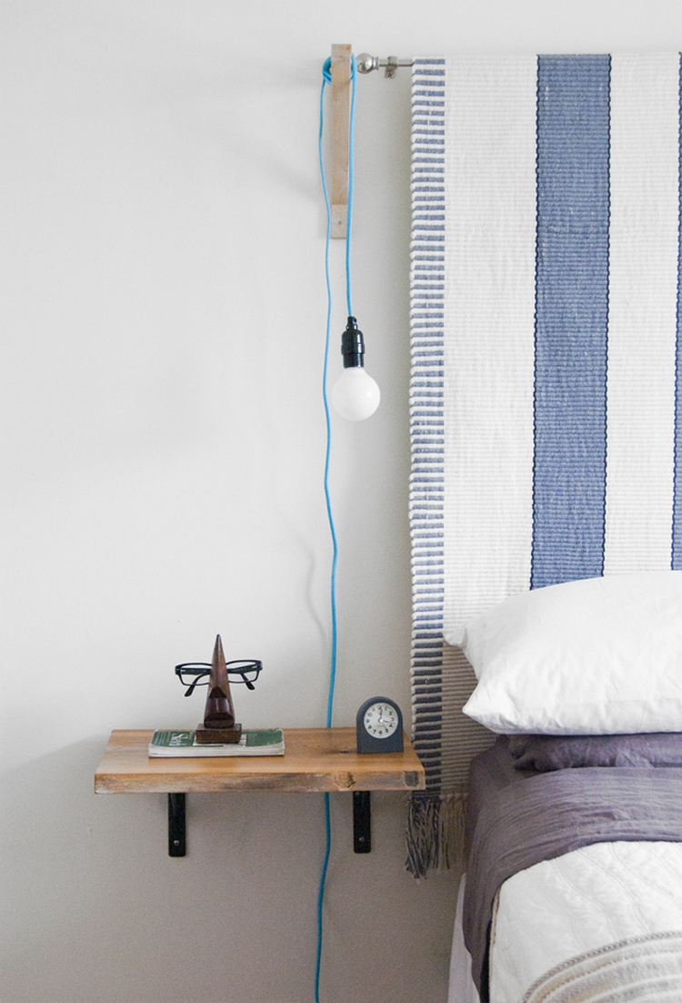 Creative Bedside Tables: 9 Cool And Unique Bedside Table Ideas • One Brick At A Time