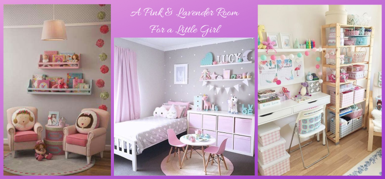 A Pink And Lavender Room For a Little Girl - Part 1
