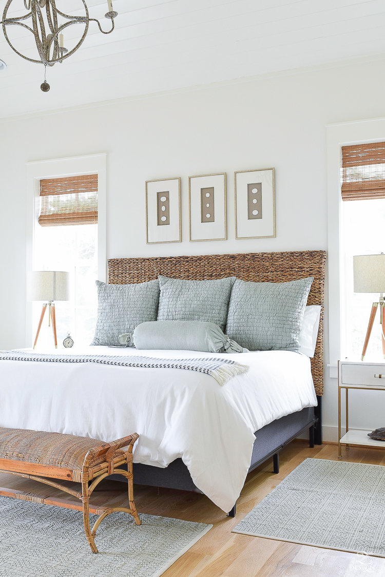 Foot Of The Bed 11 ways to make your foot of bed beautiful • one brick at a time