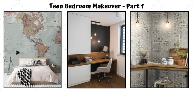 Teen Bedroom Makeover Part 1