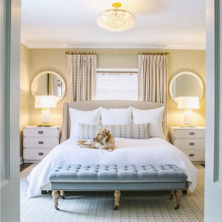 Place Your Bed In Front Of A Window, Can Mirror Be Placed In Front Of Bed