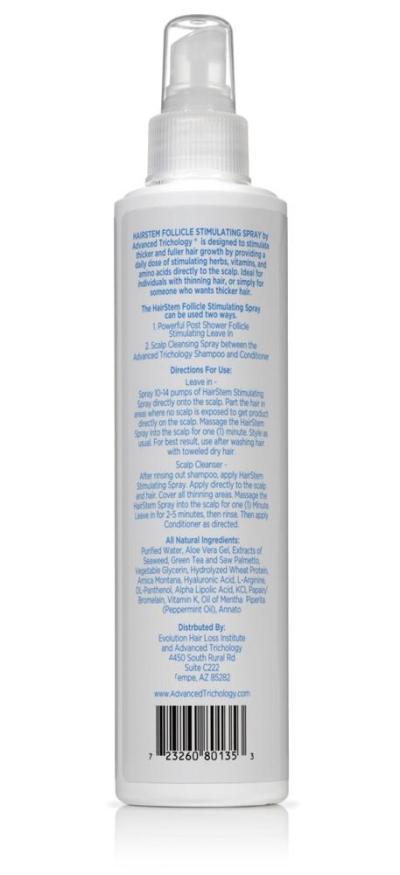Hair Growth Follicle Stimulator Spray Back - Arizona Aesthetics
