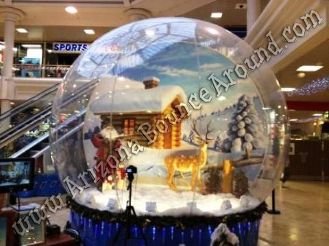 Big Inflatable Human Snow Globe Rental  Scottsdale Tempe