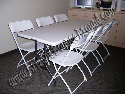 table and chair rentals camp with footrest folding rental phoenix scottsdale arizona az 6 foot rectangle white extra wide plastic chairs
