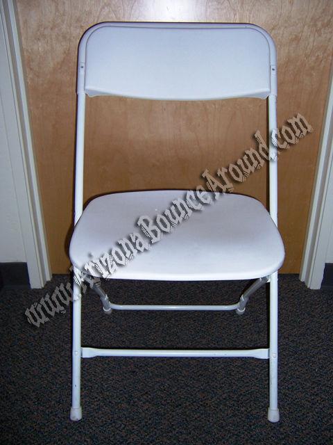 chair rentals phoenix computer walmart white folding rental scottsdale arizona az plastic extra wide