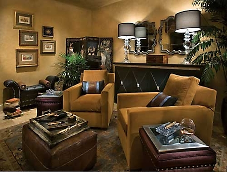Gallery  Designer Showhouse  Picture cigarroom