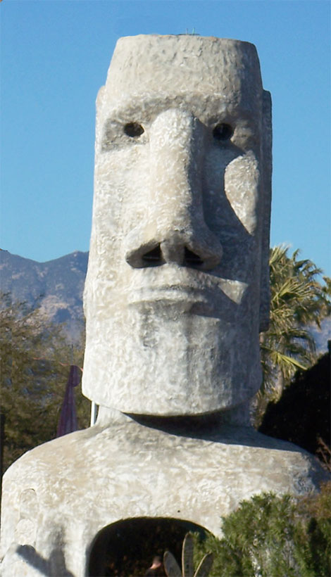 Tucsons Famous Giant Tiki Sculpture is Resurrected