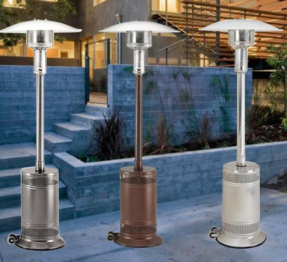 patio comfort heater liquid propane patio heater