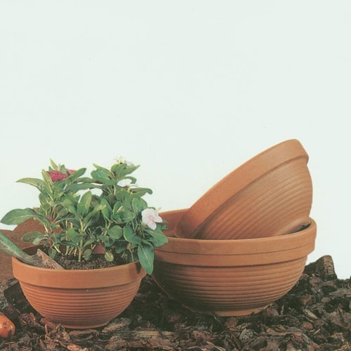 Garden Bowl Shaped Flowerpots  Made in Italy  Planters  Containers