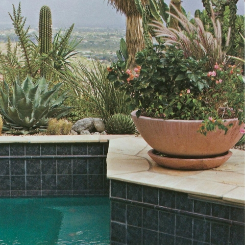 Concrete Wok Pot Planters Amp Garden Bowls Arizona Pottery