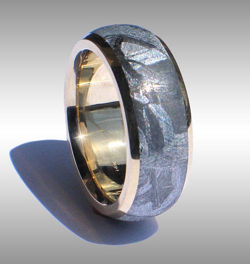 Finest Quality Meteorite Rings Meteorite Ring Meteorite