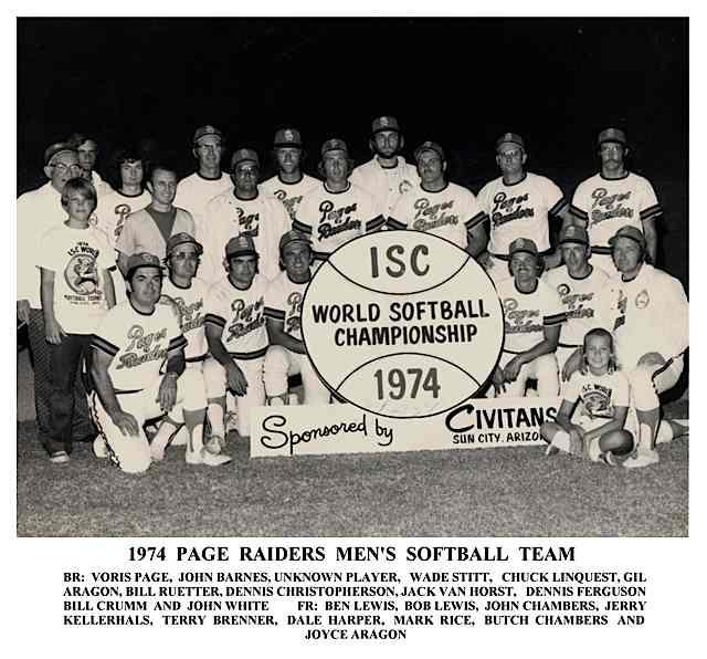 Arizona Softball Foundation  Mens Teams