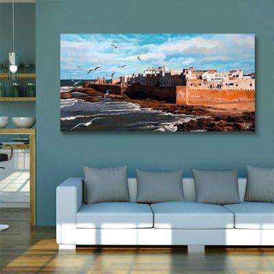 Tableau oriental Essaouira