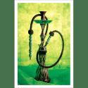Poster oriental-chicha-vert