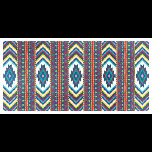 Poster oriental-tapis motif berbère