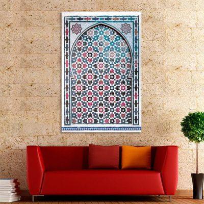 Tableau arabe – Porte mosaïque