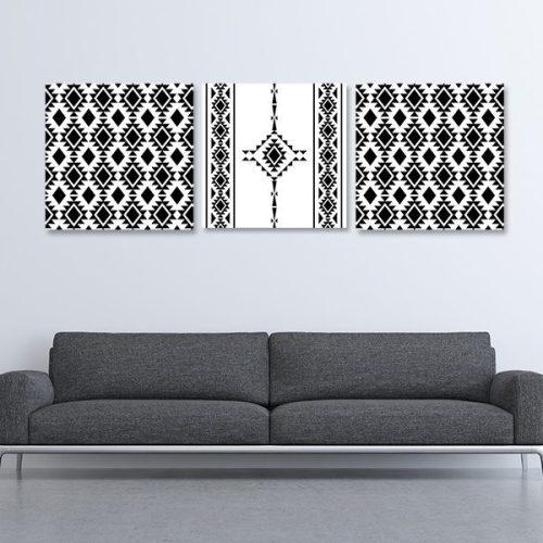 tableau-oriental-berbère-triptyque