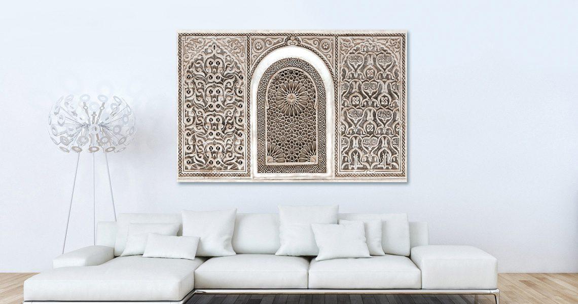 Tableau arabesque