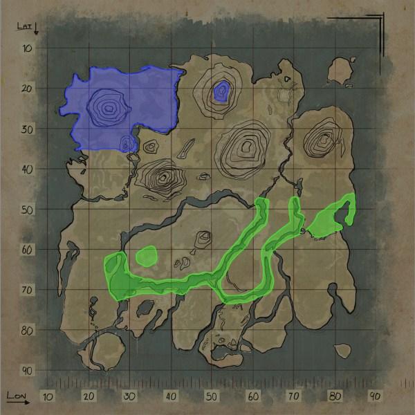 Ark Ragnarok Griffin Spawn Locations - Exploring Mars