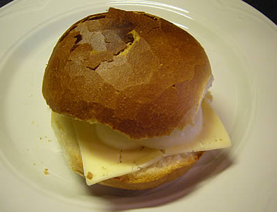 Cheese and Onion Cob