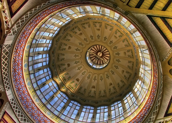 Valencia - Dome of Mercado Central