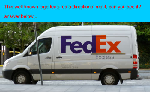 You look, but do you see? FedEx logo