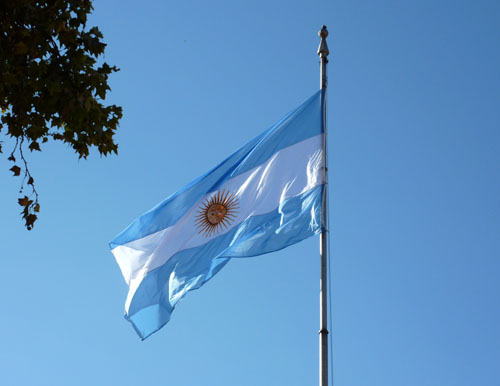 Buenos Aires - Argentine Flag
