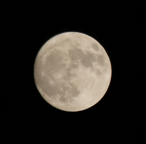 Moon 20 March 2011