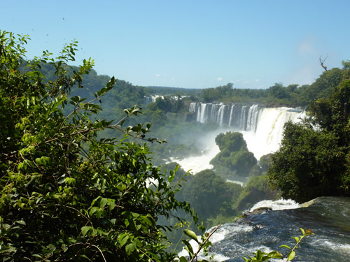 Iguazu - upper trail