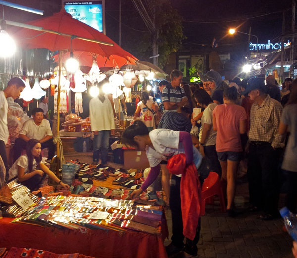 Chiang Mai Night Walking Market