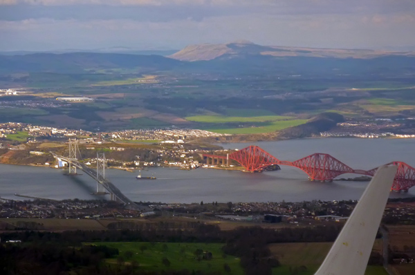 Firth of Forth - The Rail and Road Bridges