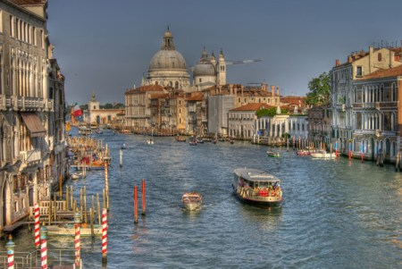 Grand Canal from Academia - day