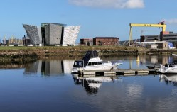 Belfast Harbour and Titanic Building