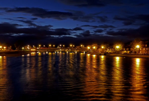 Inverness Night - The River Ness
