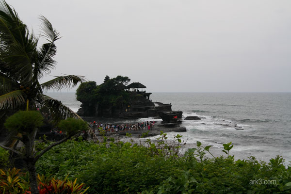 Tanah Lot - temple in the sea