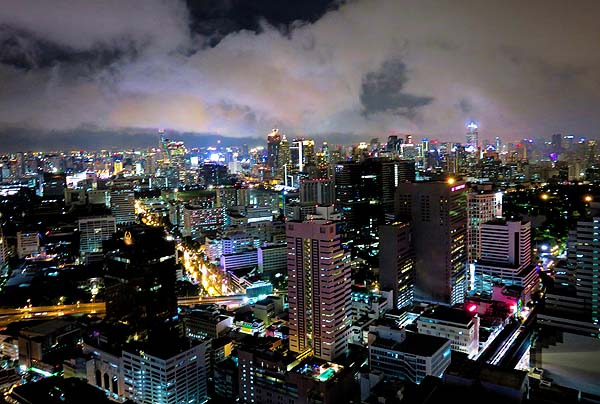ark3_Bangkok aerial night view