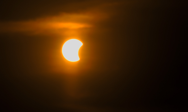 Partial Solar Eclipse - Thailand 9th March