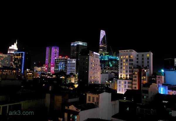 Ho Chi Minh City/ Saigon - skyline