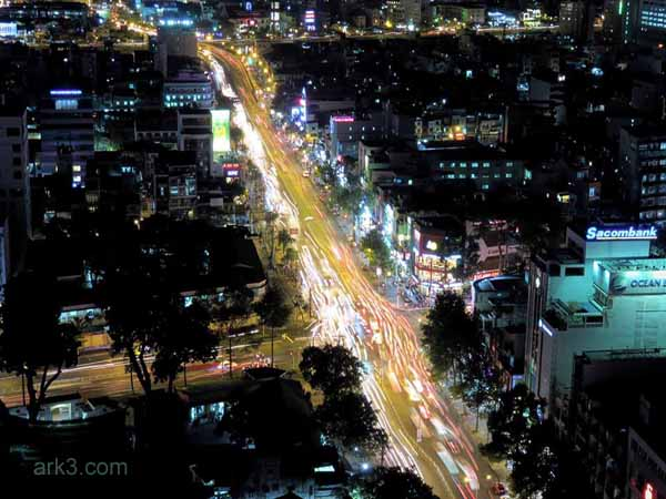 Ho Chi Minh City/ Saigon - traffic