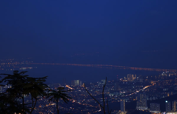 Penang Hill - night view