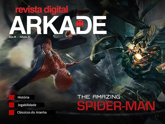 Revista Arkade #37 - The Amazing Spider Man - Novo formato!