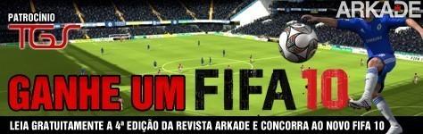 Promoção Arkade e TGS Ganhe um Fifa 10