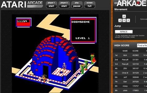 Relembre clássicos da Atari no site da empresa
